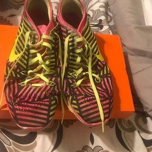 Multi-colored Nike